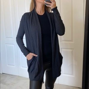 WILFRED silk and cashmere blend cardigan